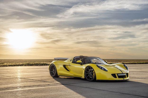 Hennessey Venom GT Spyder record auto più veloce