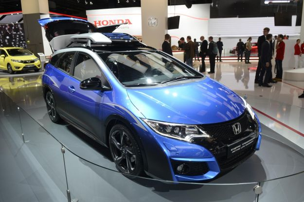 Honda Civic Tourer Active Life Concept al Salone di Francoforte 2015 [FOTO]
