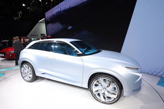 Hyundai FE Concept 2017: esercizio di stile per il SUV ad idrogeno [FOTO]