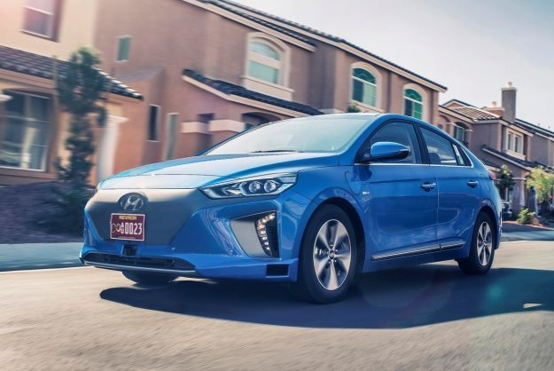 Hyundai Ioniq concept, al Salone di Los Angeles l'auto che si guida da sola [FOTO]
