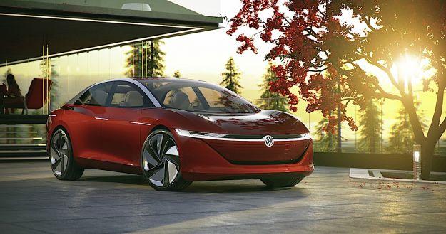 Volkswagen I.D. Vizzion: la concept car elettrica e autonoma
