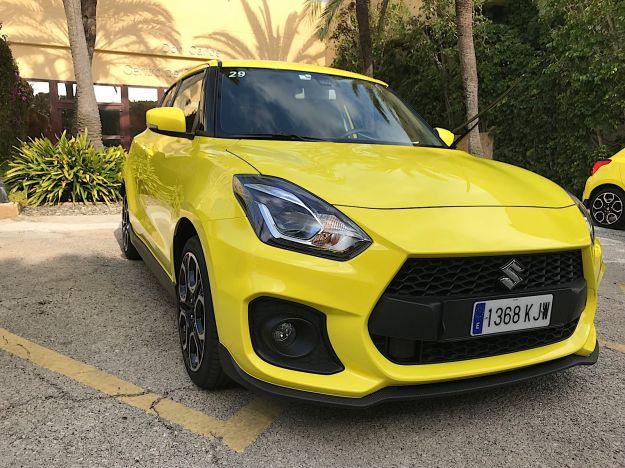 Nuova Suzuki Swift Sport: la prova su strada