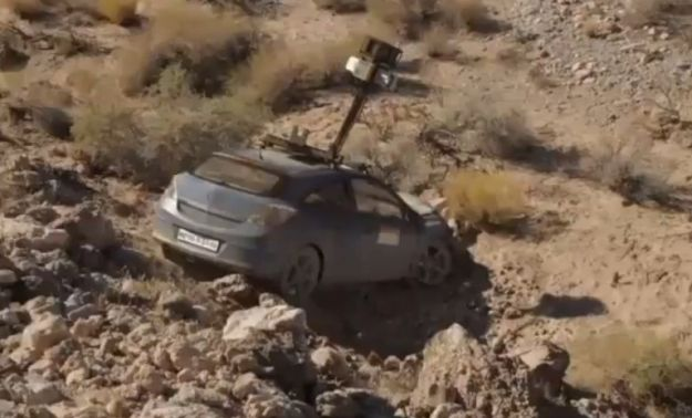 Incidente Google car