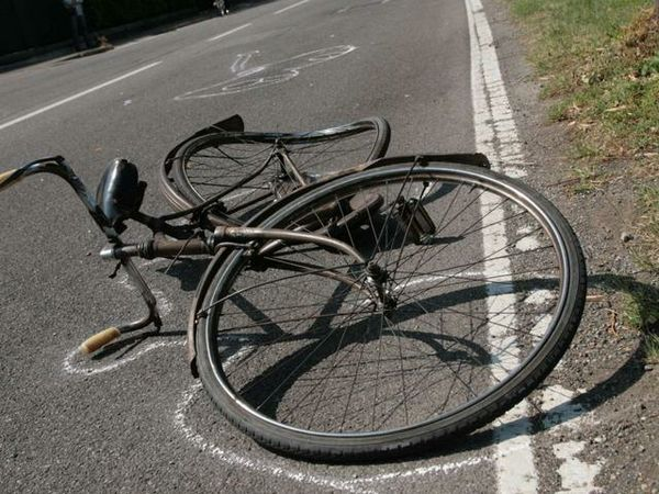 Incidente in bici