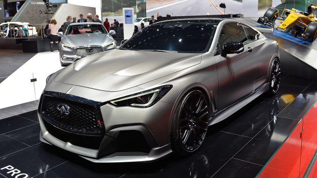 Nuova Infiniti Q60 Project Black S: si ispira alla F1 la supercar giapponese [FOTO]