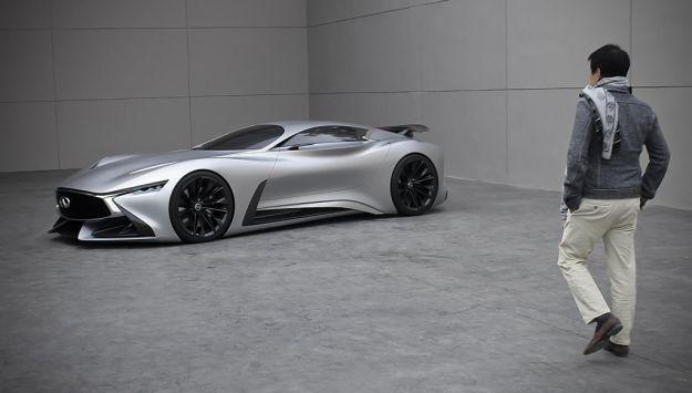 Infiniti Concept Vision Gran Turismo, dalla Playstation alla realtà [FOTO]