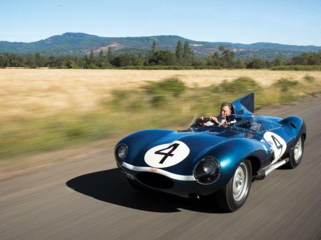 Jaguar D-Type 1956, all'asta a Pebble Beach la vincitrice di Le Mans '56 [FOTO]