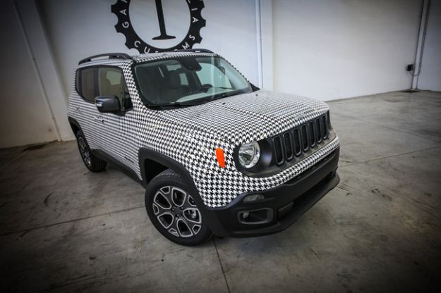 Jeep Renegade all'asta