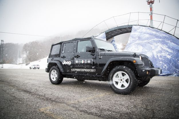 Jeep Winter Tour