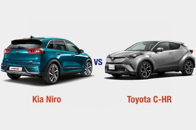 Kia Niro Vs Toyota C-HR: interni, dotazioni, motori e prezzo a confronto