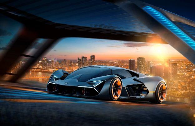 Lamborghini Terzo Millennio, concept elettrico e visionario: le caratteristiche [FOTO]
