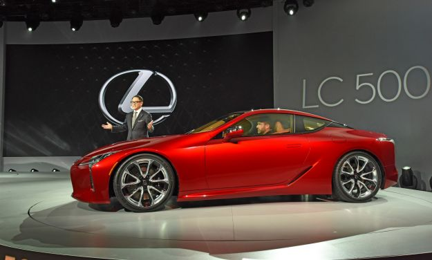 All New Lexus LC 500 Word Debut