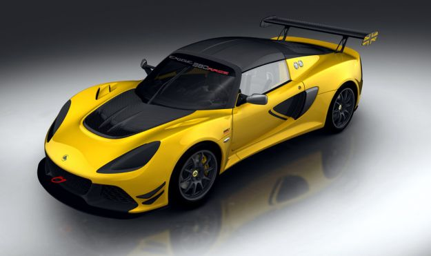 Lotus Exige Race 380: pronta per le corse