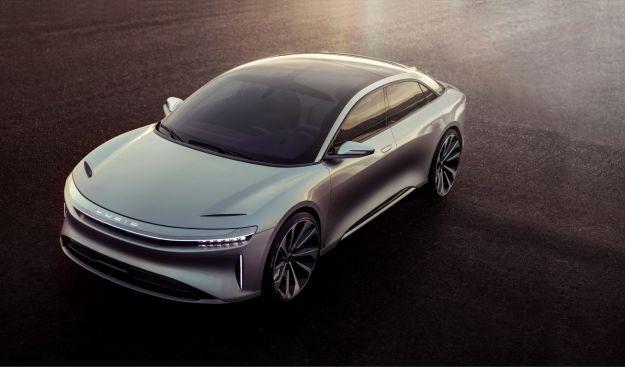 Lucid Air, elettrica e autonoma per sfidare Tesla [FOTO]
