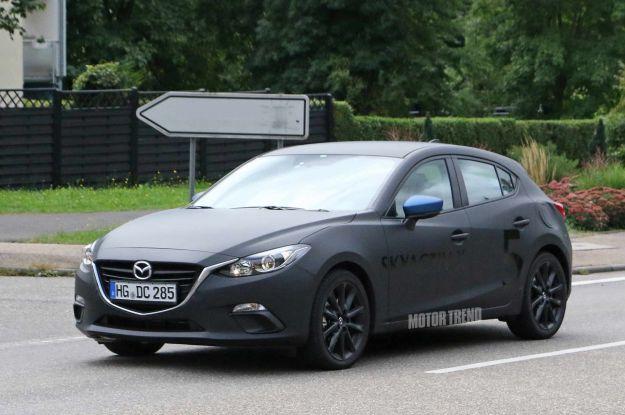 Mazda 3, test sui nuovi motori