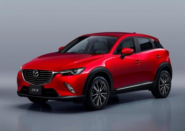 Mazda CX-3 2017: dimensioni, interni e prezzo [FOTO]