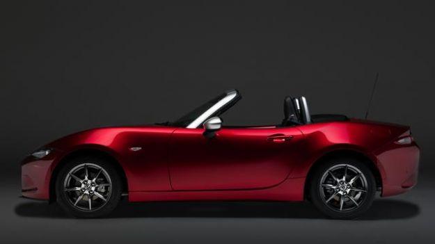 Mazda with pollini cover