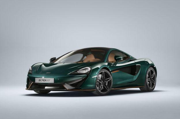 McLaren 570GT XP Green, si ispira alla F1 Longtail: prezzo e caratteristiche [FOTO]