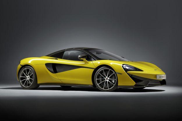 McLaren 570S Spider: prezzo, scheda tecnica e prestazioni. Debutta a Goodwood [FOTO]