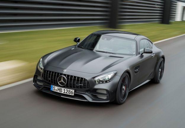 Mercedes AMG GT C Coupé, a Detroit è Edition 50 accanto alla GT aggiornata [FOTO]