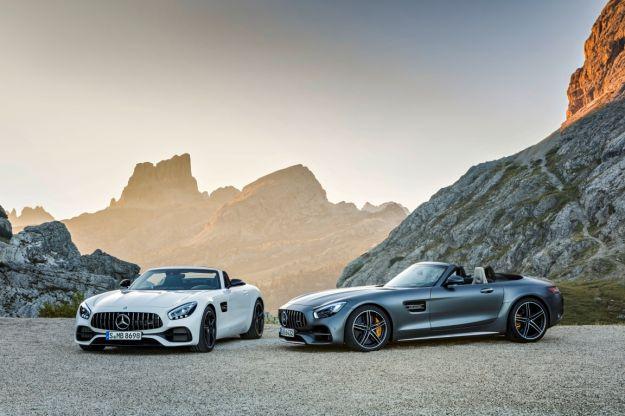 Mercedes AMG GT C Roadster: scheda tecnica e prestazioni [FOTO]