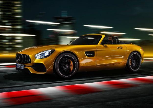 Mercedes AMG GT S Roadster: la sportiva scoperta