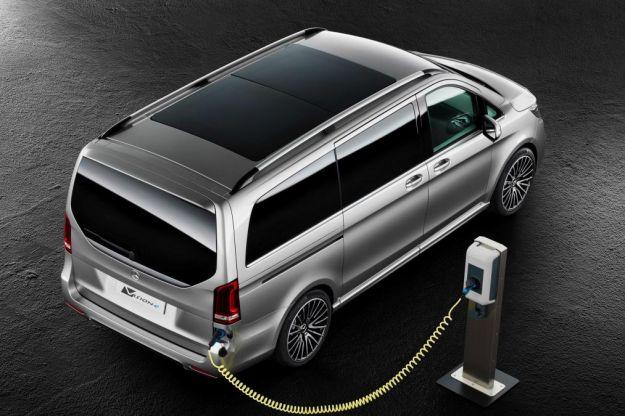 Mercedes Benz Classe V plug-in hybrid V-ision-e concept: scheda tecnica e motore [FOTO]
