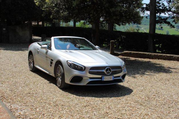Nuova Mercedes-Benz SL: scheda tecnica, caratteristiche e prova su strada [FOTO]