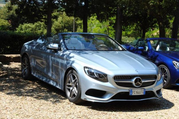 Nuova Mercedes-Benz S Cabrio: scheda tecnica, caratteristiche e prove su strada [FOTO]