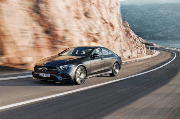 Mercedes CLS 53 AMG 2018 al Salone di Detroit: prestazioni migliorate grazie al motore elettrico