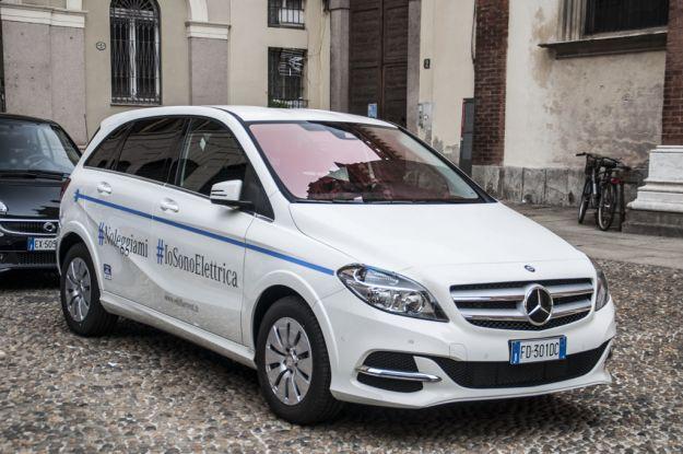 Mercedes Classe B Electric Drive: prova su strada, scheda tecnica, prezzi, interni [FOTO]