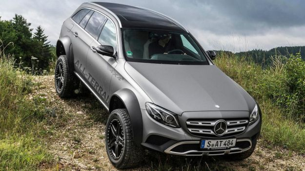 Mercedes Classe E All-Terrain 4×4^2: per non fermarsi davanti a nulla