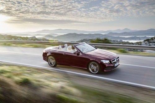 Nuova Mercedes Classe E Cabrio 2017: prezzo, dimensioni e prova su strada [FOTO]
