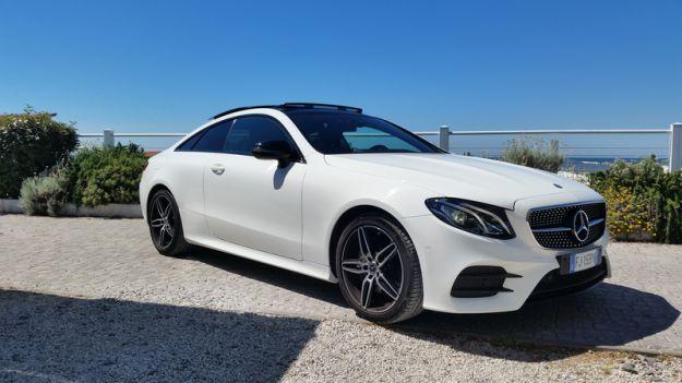 Mercedes Classe E Coupé 2017: prova su strada, interni, dimensioni e prezzi [FOTO]