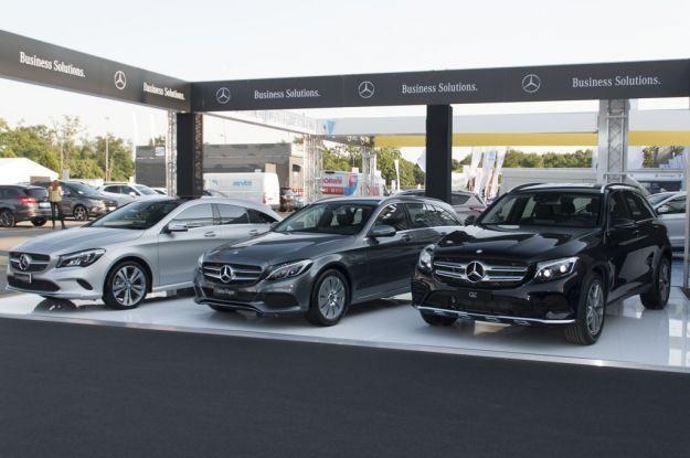 Auto ibride ed elettriche: Mercedes al Company Car Drive 2017 [FOTO]