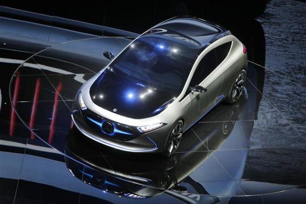 Mercedes EQ A Concept 2017: non è che si vocifera della futura Classe A elettrica? [FOTO]