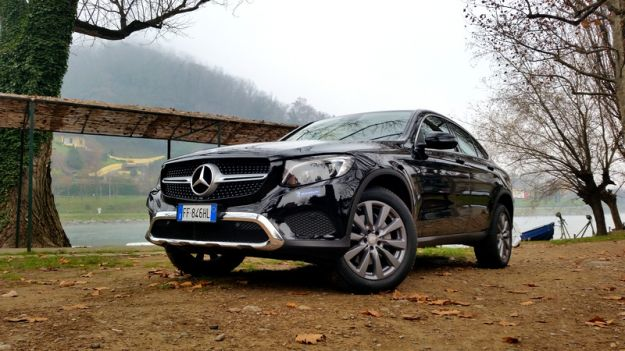 Prova su strada Mercedes GLC Coupé con pneumatici Michelin CrossClimate [FOTO]