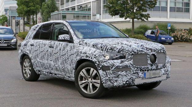 Mercedes GLE 2018 foto spia 1