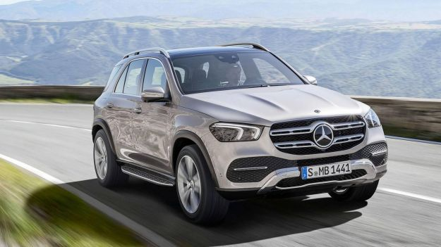 Mercedes GLE 2019 anteprima