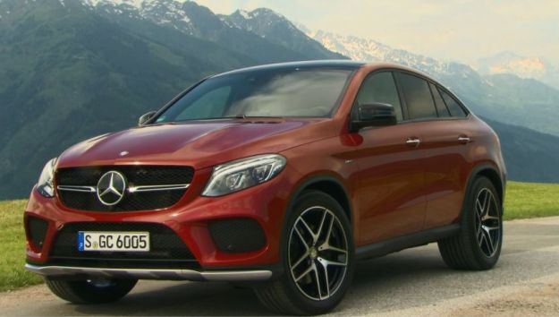 Mercedes GLE Coupé test drive