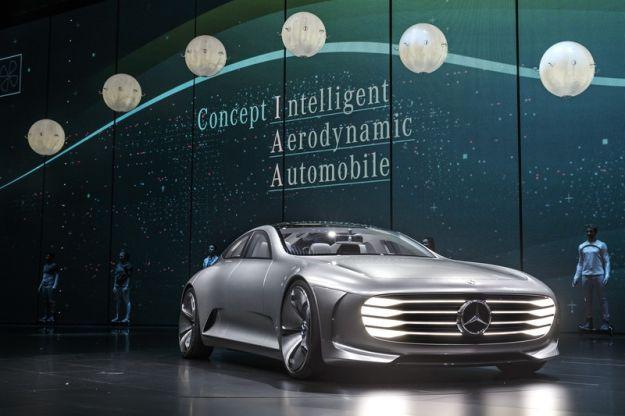 Mercedes IAA Concept al Salone di Francoforte 2015 [FOTO]