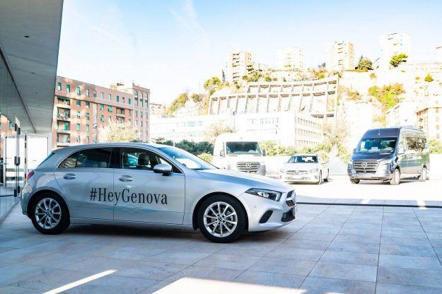 """Mercedes Classe A 2019: come funziona il comando """"Hey Mercedes"""""""