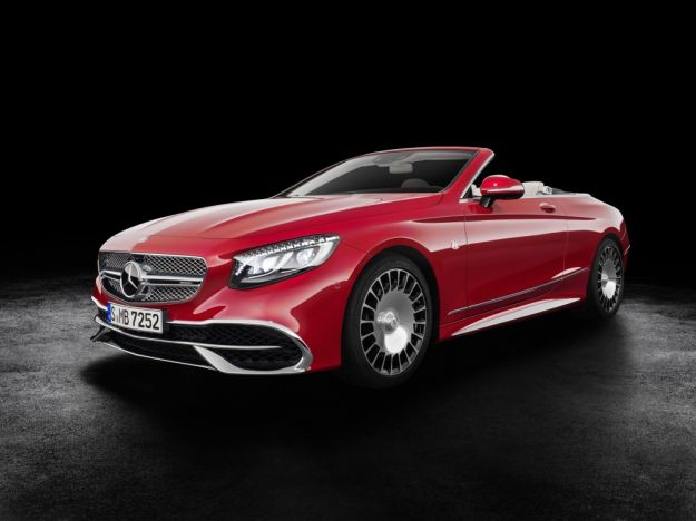Mercedes Maybach S650 Cabriolet, iperlusso a Los Angeles: caratteristiche [FOTO]