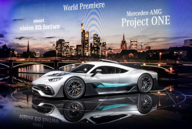 Mercedes-AMG Project One Concept al Salone di Francoforte 2017: scheda tecnica e motore [FOTO]