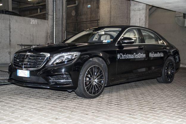 Mercedes S500 Hybrid: prova su strada dell'ibrida plug in, dimensioni, prezzi e interni [FOTO]