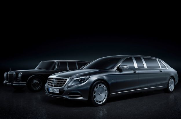 Mercedes S600 Pullman Maybach