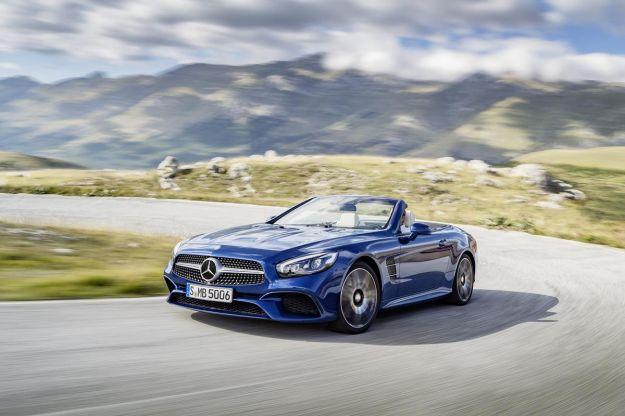 Mercedes SL 2016: prezzo e caratteristiche. AMG da 585 o 630 cavalli [FOTO]