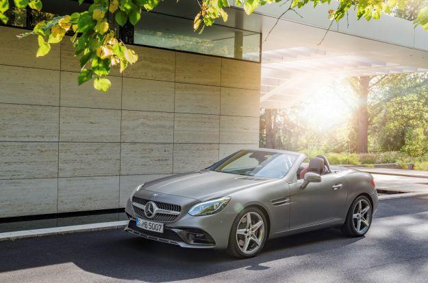 Mercedes SLC 2016: prezzo, motori e caratteristiche. Anche 43 AMG [FOTO]