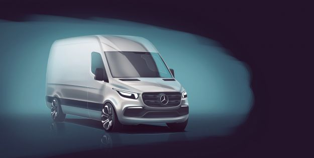 Mercedes Sprinter 2018 Sketch