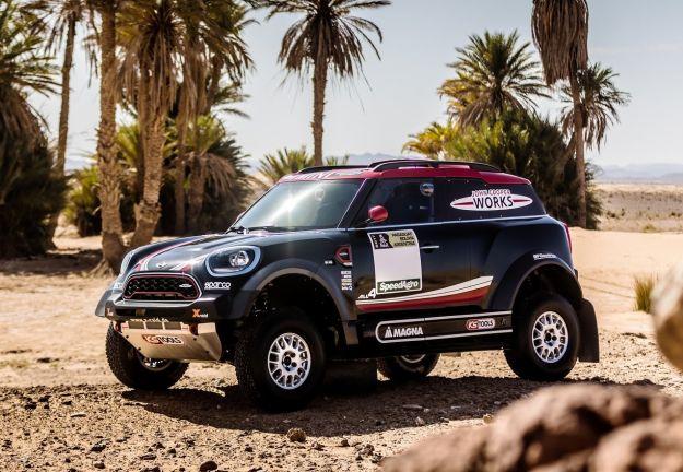 MINI John Cooper Works Rally, l'arma per la Dakar 2017 [FOTO]